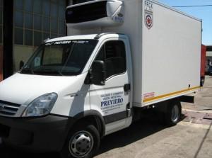 noleggio furgone coibentato Verona
